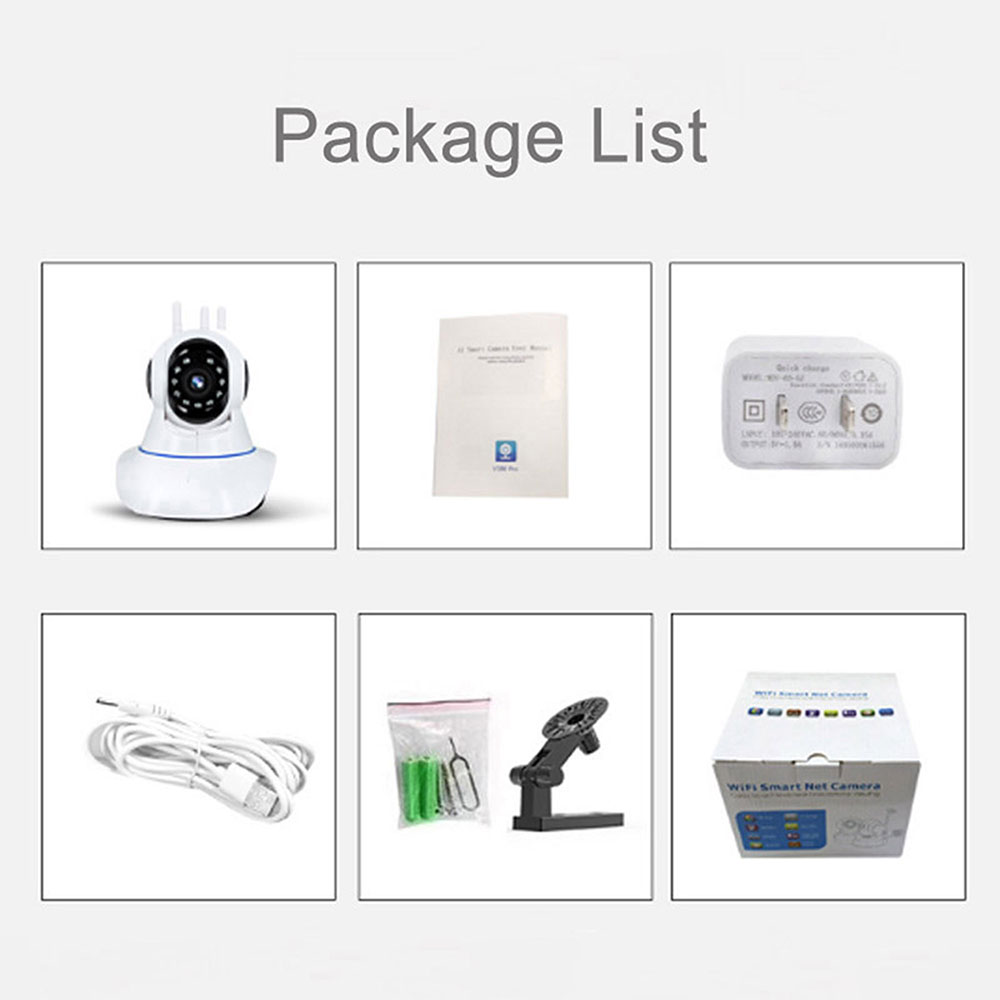 720P//1080P HD Night Vision YooSee APP TwoWay Audio Wifi SecurityIndoor IP Camera